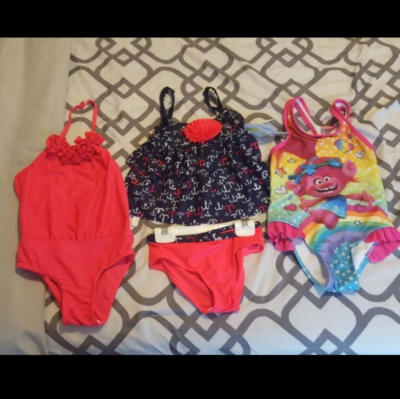 c990a01fcb7 Toddler Girl Swimsuit Bundle. M_5b944a9afe5151f203aea248. Other Swims you  may like. 3 piece bathing suit